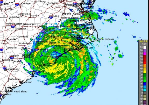 Florence UPDATES - 9/14/2018 Hurricane-Florence-direct-hit-Brunswick-nuclear-575x403