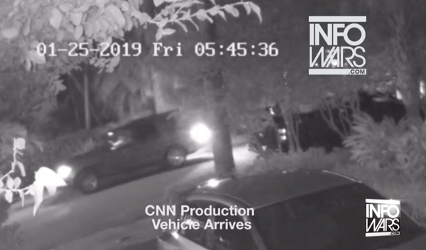 Surveillance video captures FBI directing CNN camera man at Roger Stone raid; it's all THEATER