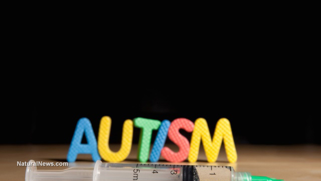 Image: Autism risk 420% higher in vaccinated children vs. non-vaccinated, published science confirms