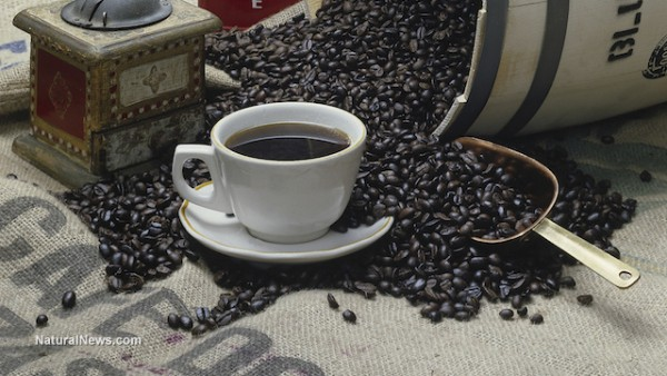 Image: Used coffee grounds can help filter contaminated water