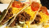 Tacos-Mexican-Food-Close-Up-Meat-Cheese-Vegetable