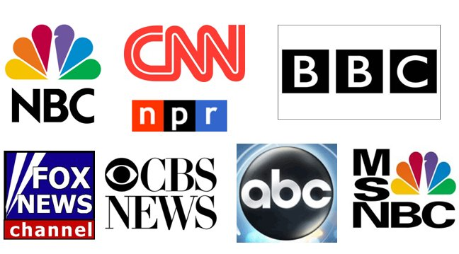 Image: How to avoid being brainwashed by the mainstream media: Actively choose your news from independent outlets