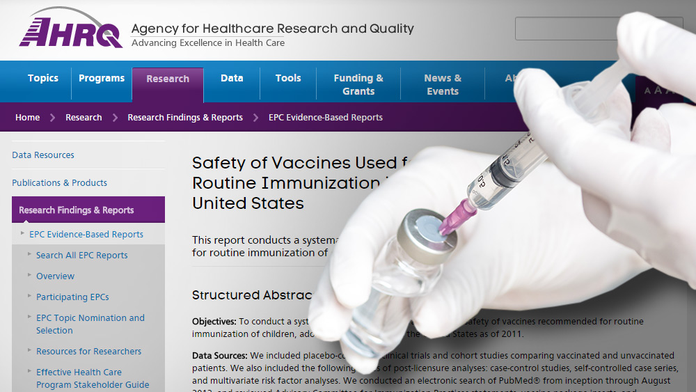 Image: Exhaustive RAND Corporation review of vaccine side effects finds strong evidence that vaccines cause Guillain-Barre Syndrome, myalgia, seizures, meningitis, encephalitis and more