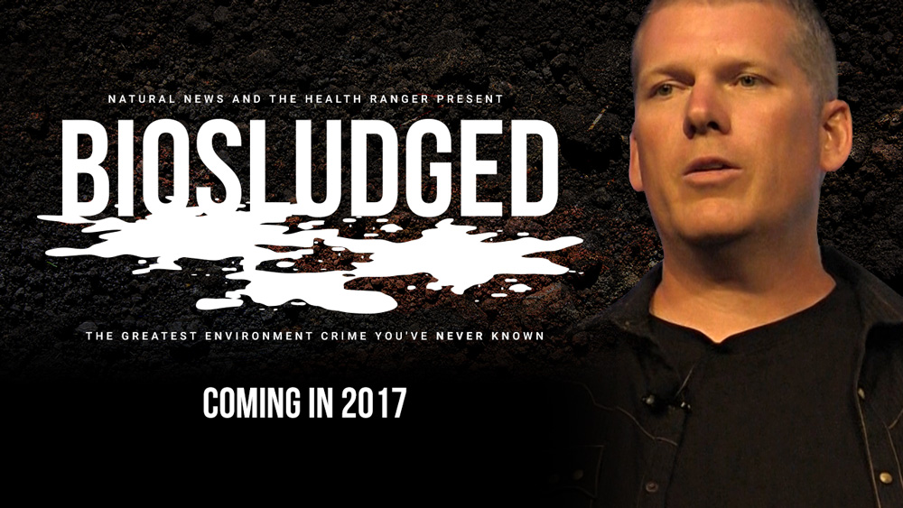 "Image: BIOSLUDGED movie trailer released: The Health Ranger's stunning science investigation into ""the greatest environmental crime you've NEVER known"""