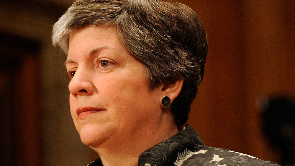 "Image: Janet Napolitano nearly killed by cancer medication… rushed to hospital after found unconscious… doctors ""worried about brain damage"""