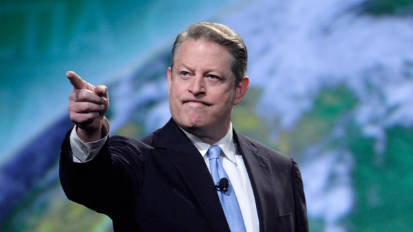 "Image: Head of the global climate change cult, Al Gore, says ""God"" told him to fight global warming"