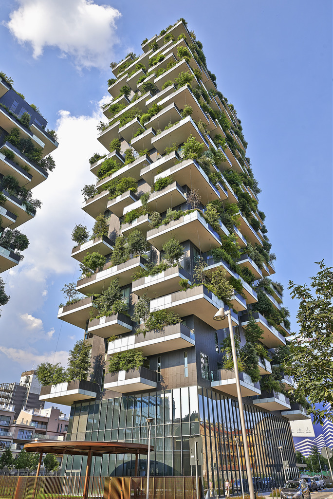 Image: Vertical Forest: Buildings of the future will produce clean air for cities