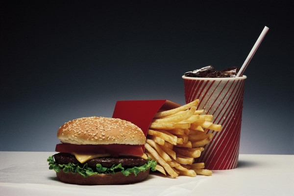 Image: Breakthrough allows scientists to track toxic chemicals from fast food wrappers as they contaminate the body