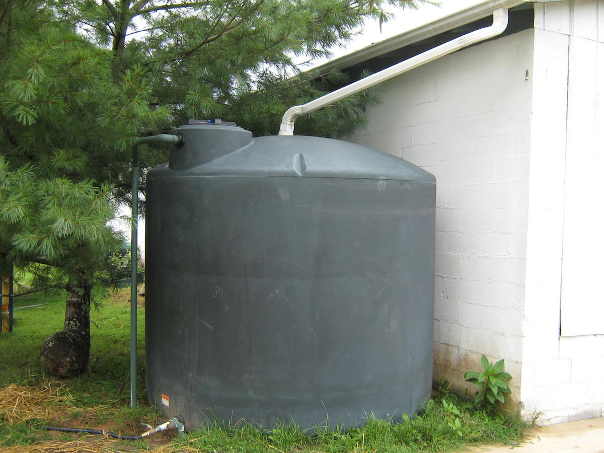 Image: Off-grid living: Harvesting rainwater on a budget