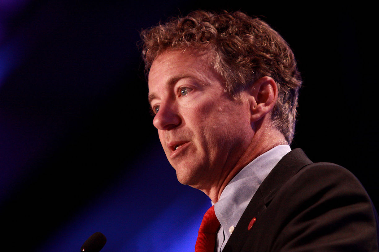 "Image: Sen. Paul says House GOP leaders ""pulling wool over Trump's eyes"" on Obamacare repeal bill"