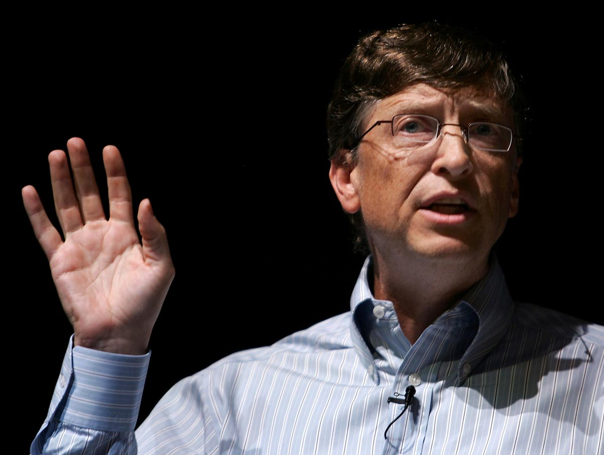 Image: After pushing vaccines for depopulation, Bill Gates now warns that bioterrorism might kill 30 million more