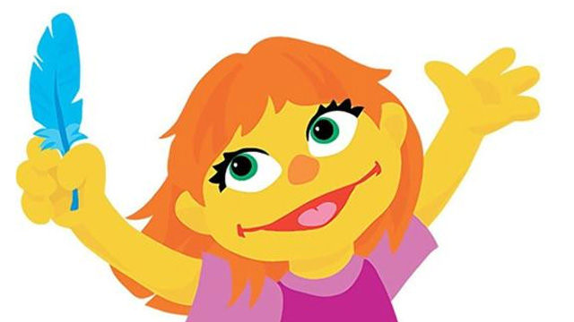 Image: Sign of the times: Sesame Street introduces a character with autism