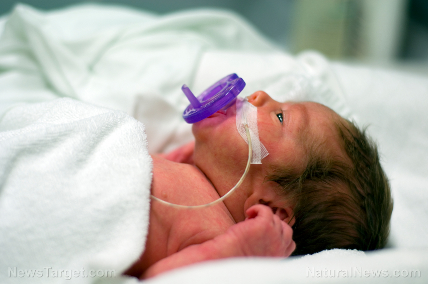 Image: 10 babies were infected with a superbug… and the hospital CONCEALED it from the parents and the public