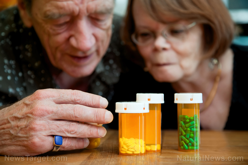 Image: Dementia patients are wildly over-medicated with antipsychotic drugs, study finds