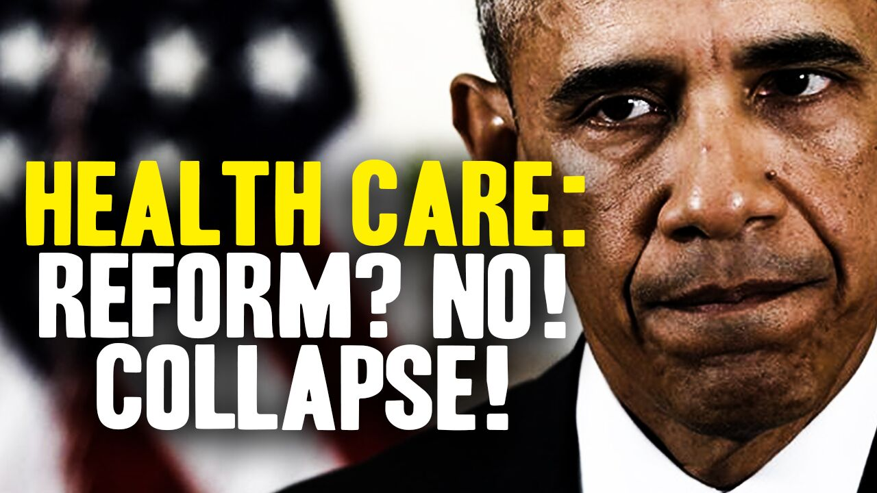 Image: Obamacare REPEAL? It's more like health care system COLLAPSE!
