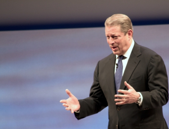 Head of the global climate change cult, Al Gore, says