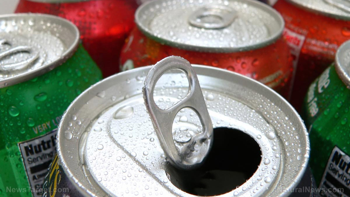 Image: CAUTION: Sugary drinks linked to accelerated aging and early signs of Alzheimer's disease reveals new study