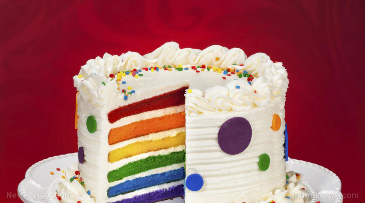 Image: Toxic tradition: Birthday cakes can contain toxic ingredients