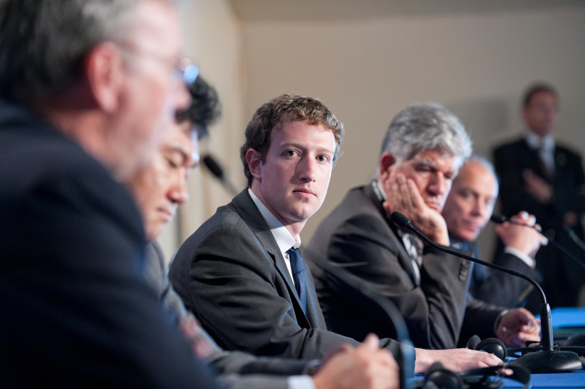 "Image: Facebook founder Mark Zuckerberg says ""Global superstructure"" needed to advance humanity under totalitarian control"
