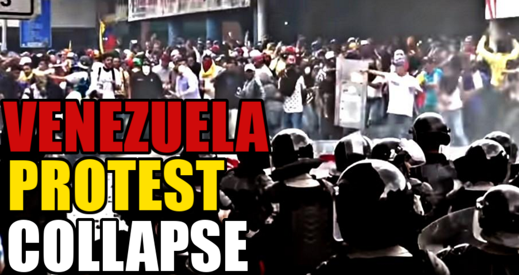 Image: Mainstream media won't cover the failing socialist nightmare in Venezuela because it exposes the faults of socialism