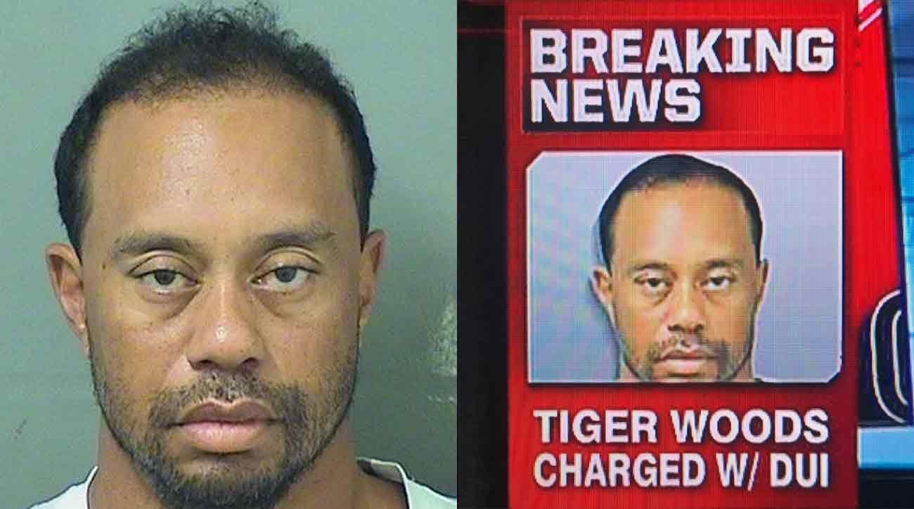fake news  espn photoshopped tiger woods dui arrest photo