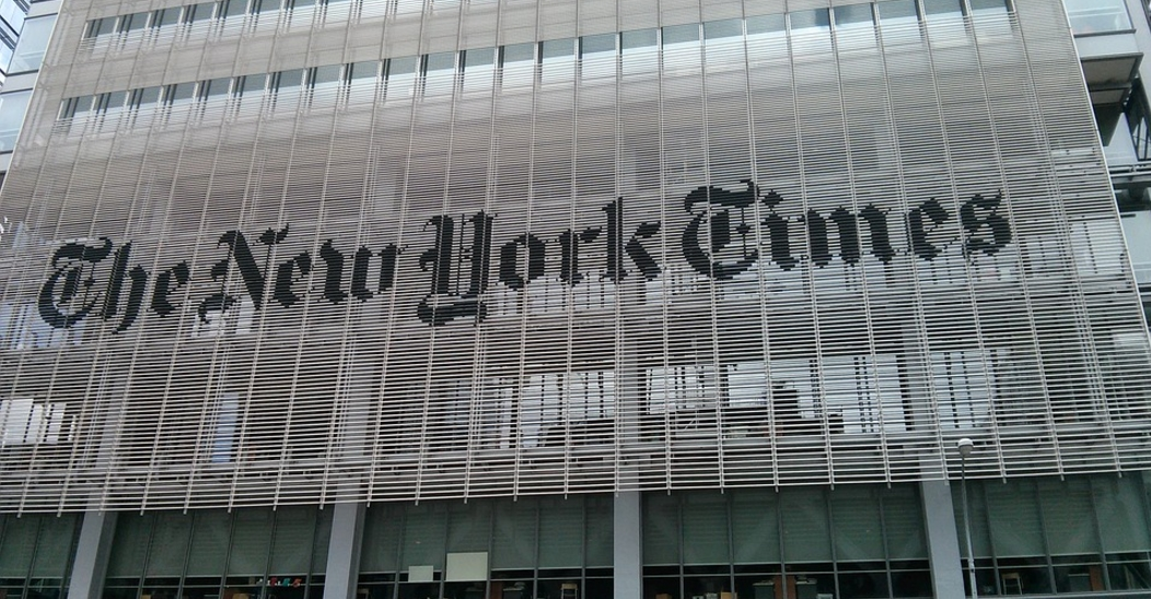 "Image: Democrats' bogus ""Trump-Russia collusion"" now FALLING APART, so the NY Times is trying to CHANGE the narrative"