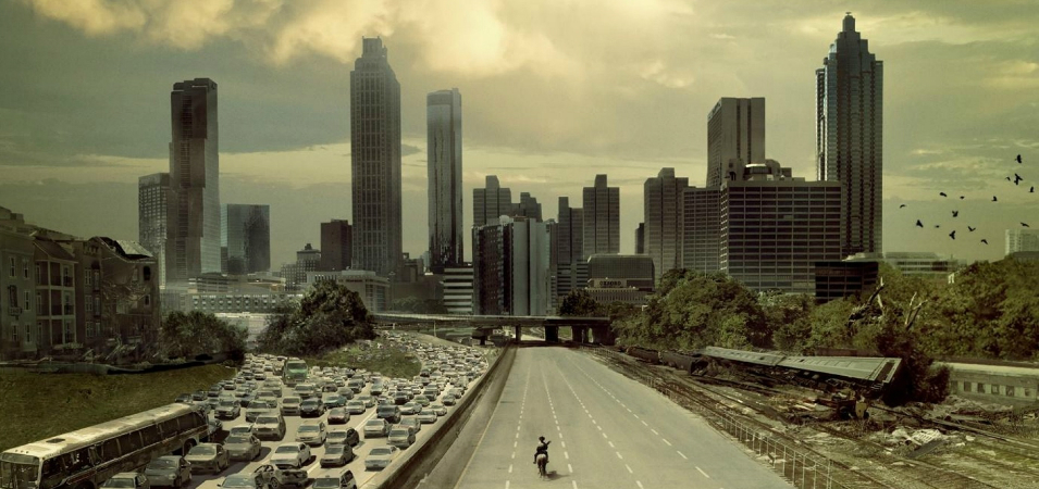 "Image: Six things the hit TV show ""The Walking Dead"" gets right about a post-apocalypse world"