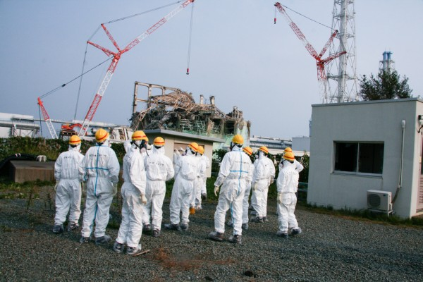 Image: Fukushima radiation so high a robot would be destroyed in two hours