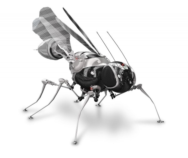 Image: Genetically engineered cyborg dragonflies now being weaponized for surveillance missions