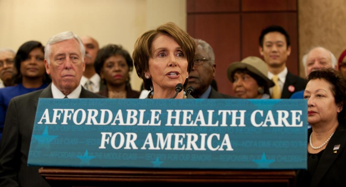 Has Big Pharma destroyed Nancy Pelosi's brain?