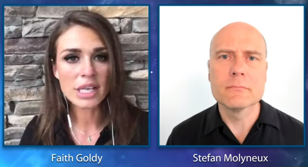 Image: Best explanation yet of what happened in Charlottesville: Stefan Molyneux and Faith Goldy report the truth you won't hear in the media