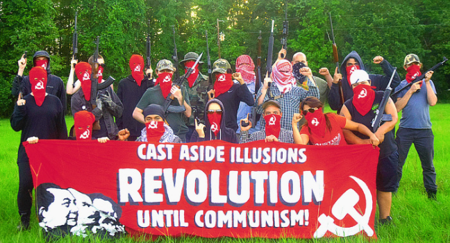 "Meet ""Red Guards Austin,"" a Marxist, Left-wing terrorist group based in Austin, Texas"