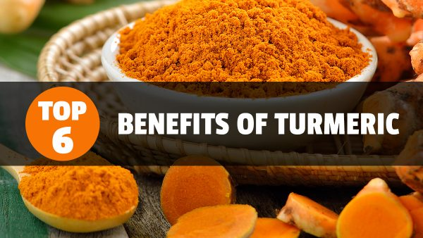 Image: The six health benefits of turmeric