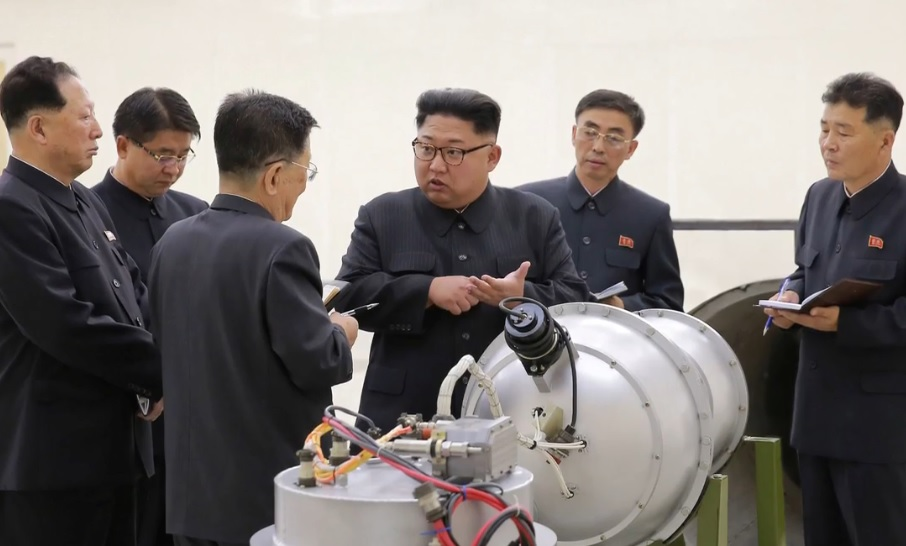Image: North Korea claims breakthrough: Hydrogen bomb warheads and EMP weapons… it's time for Trump to deal with Kim Jong-Un