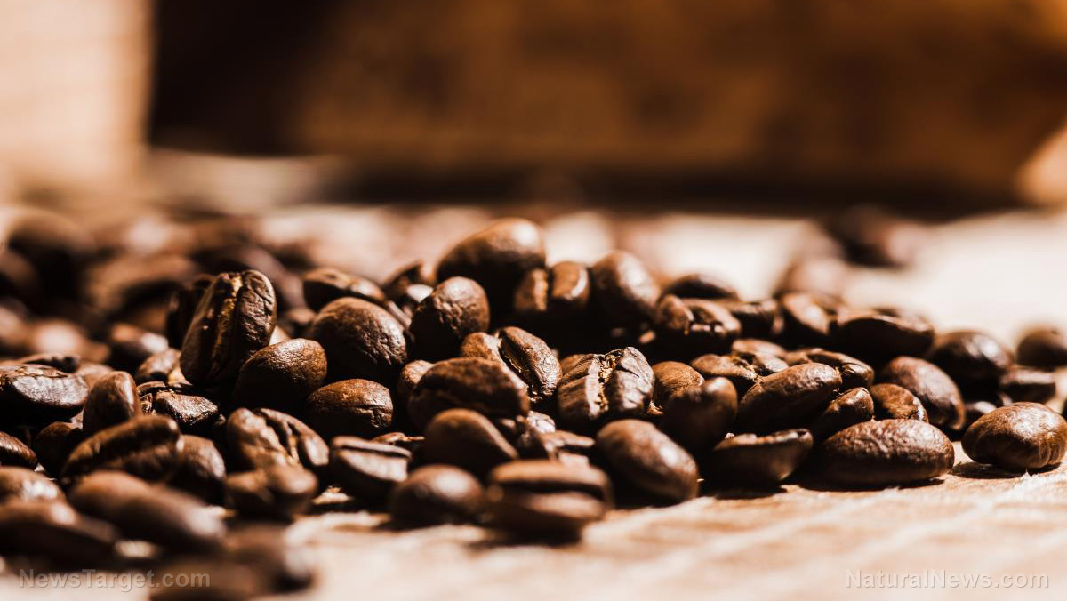 Organic-Roast-Coffee-Beans Drink coffee, live longer: Recent research finds 3 cups daily reduces the risk of death – from ALL causes Health [your]NEWS