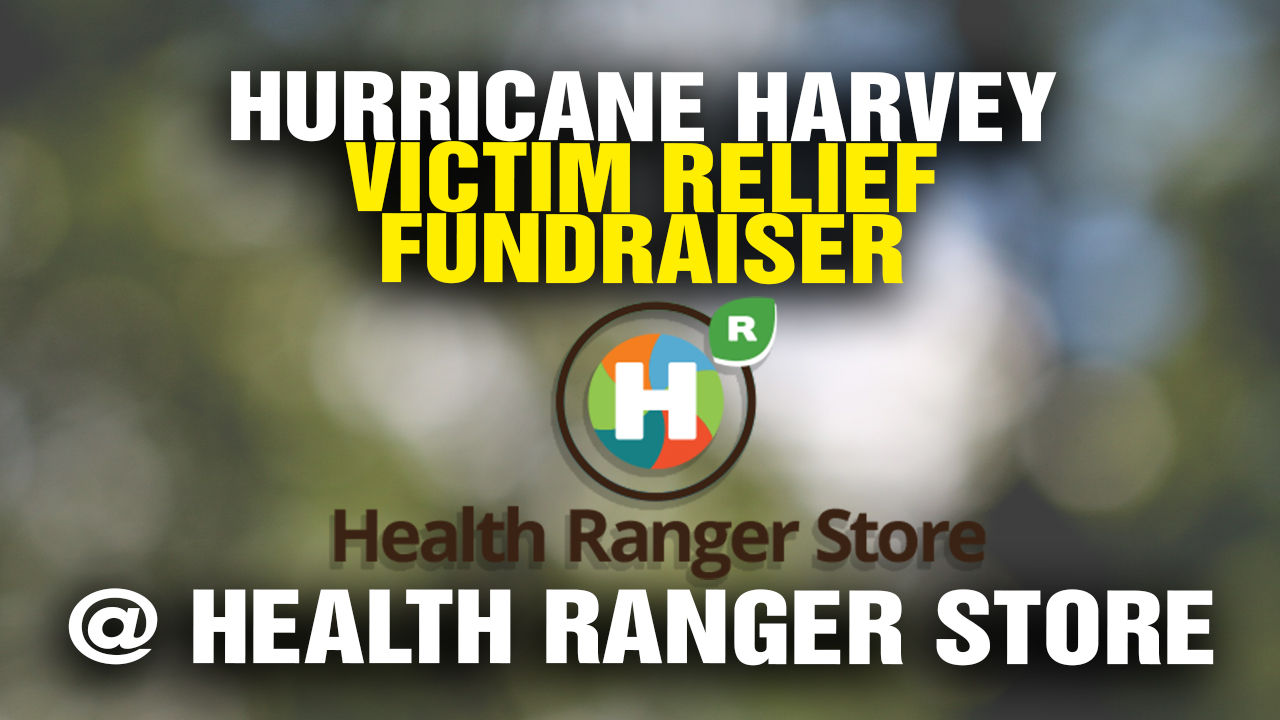 Image: Health Ranger Store announces donation distributions to aid Hurricane Harvey victims in Texas: $63,218.79 in relief funds distributed