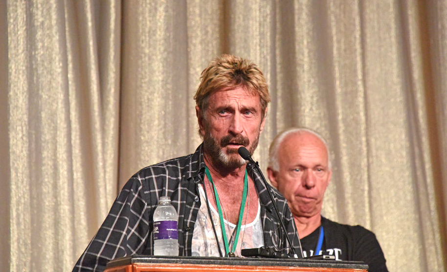 "Image: John McAfee accidentally just revealed why Bitcoin is a total fraud: Behold the logic of ""artificial work"""