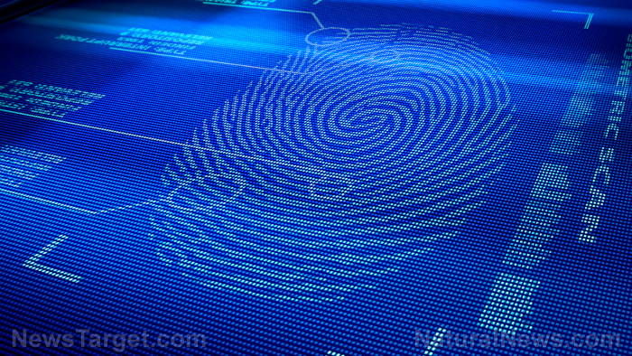 "Image: New fingerprint technology will hint at ""offender's state of mind"" – it also detects gender, recent diet and sexual activity"