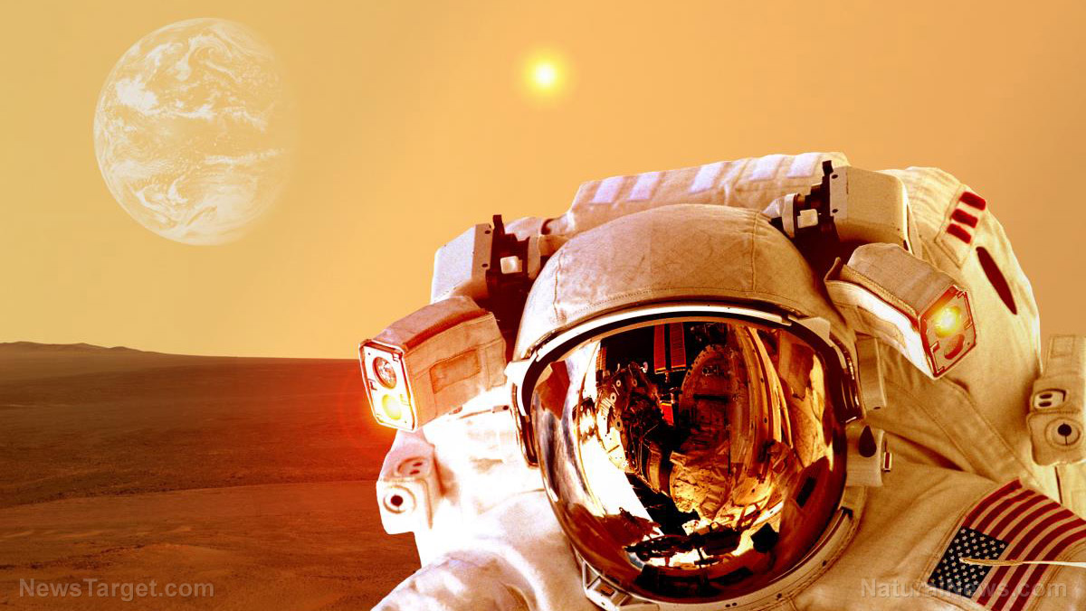 Image: NASA plans to genetically modify astronauts so they can survive the journey to Mars