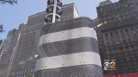 Image: Mysterious metal towers spotted all over New York City tunnels and bridges… surveillance devices?