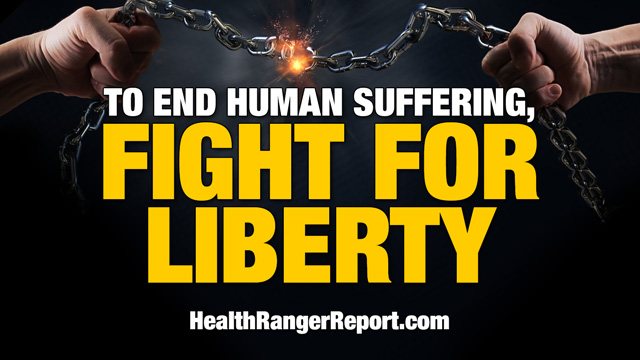 Image: Health Ranger: To end human suffering, we need to fight for LIBERTY