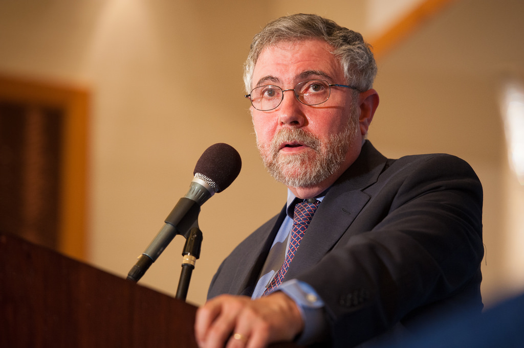 Image: Fake economist Paul Krugman falsely claims cholera outbreak in Puerto Rico in lame attempt to smear President Trump