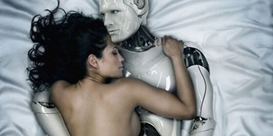Image: Is having sex with a robot CHEATING on your spouse? 40% say no