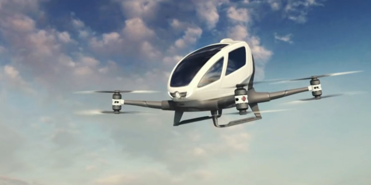 self flying taxi