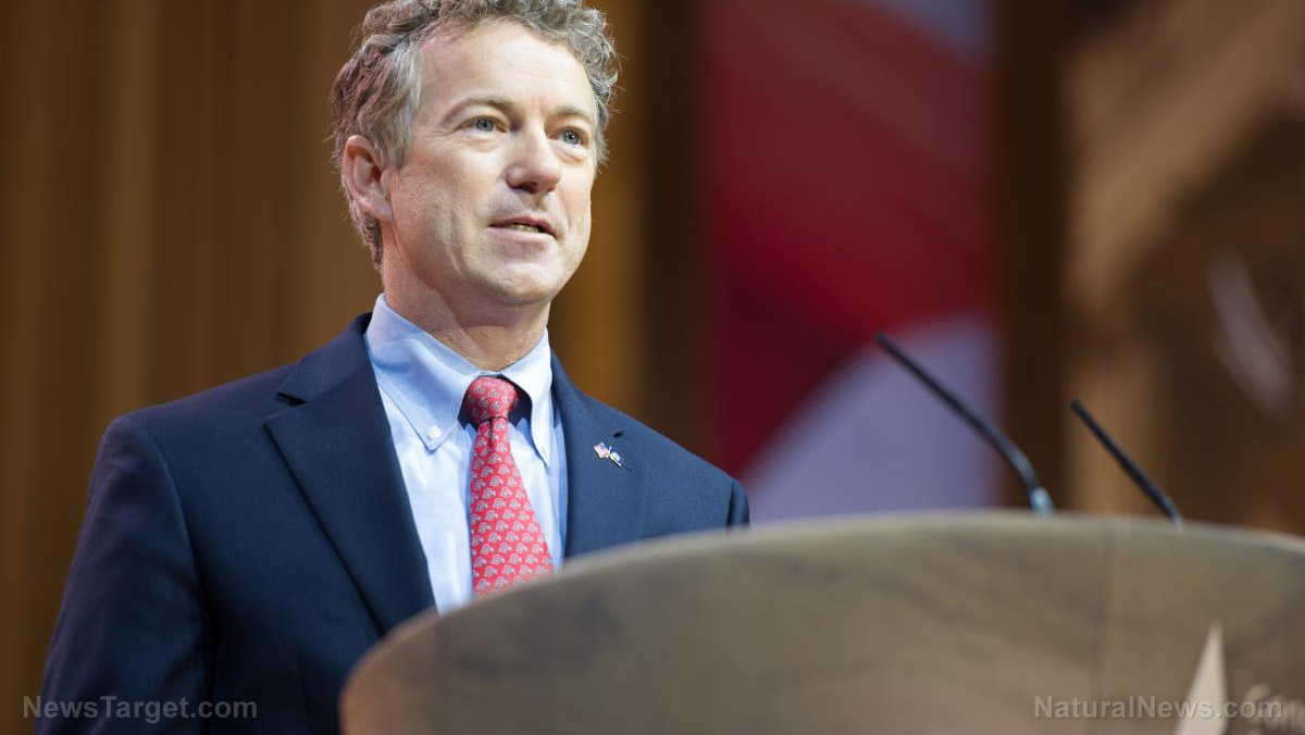 Image: Is Rand Paul the only U.S. Senator who opposes Big Pharma's racketeering and price monopolies?