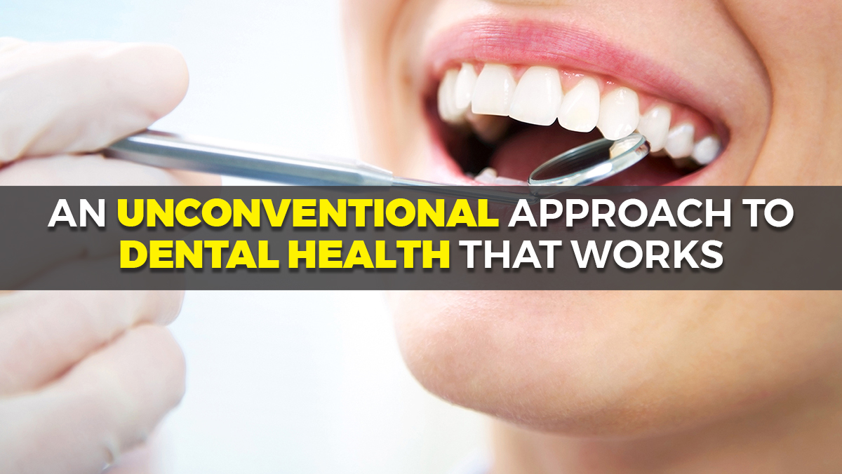 Image: An unconventional approach to dental health that works