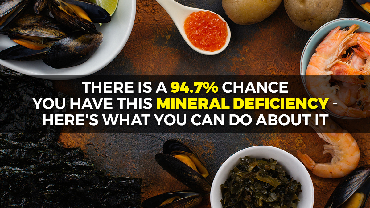 Image: There is a 94.7% chance you have this mineral deficiency – here's what you can do about it