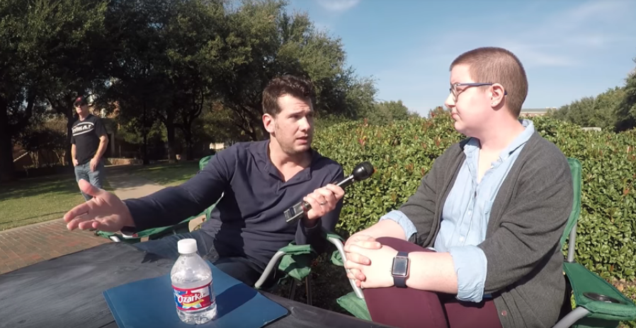 Image: Listen to liberals spout crazy gobbledygook trying to convince Steven Crowder there are more than TWO genders