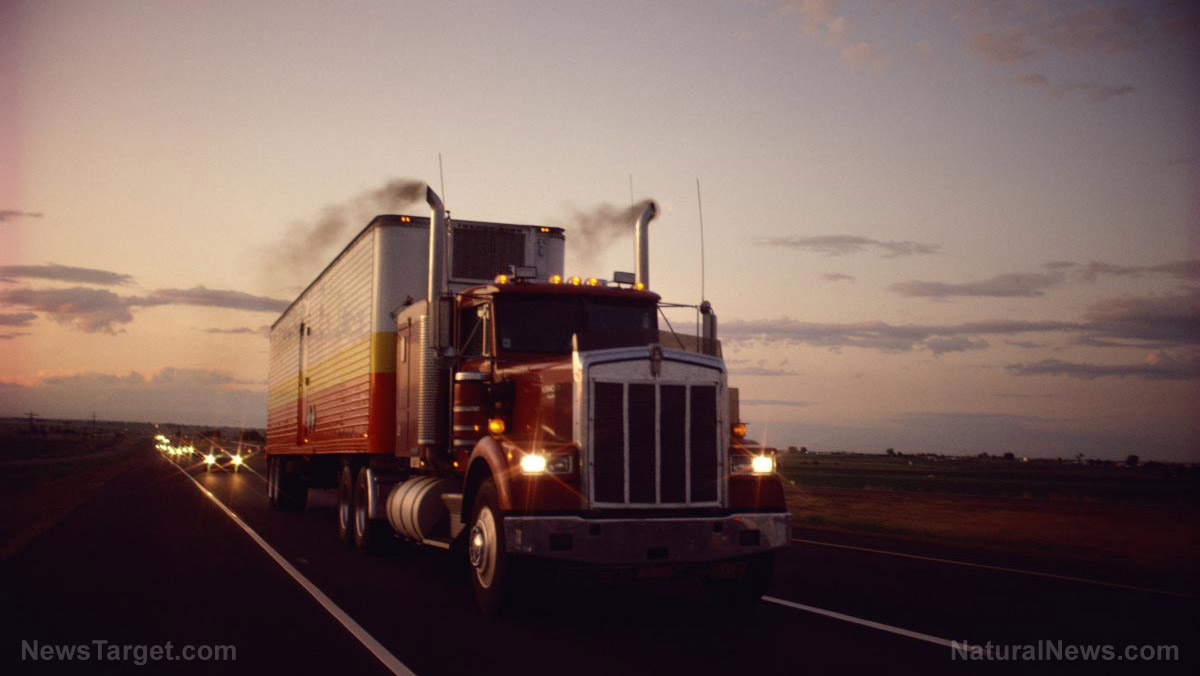 image join the truckers to oppose electronic surveillance and tyranny over the trucking industry