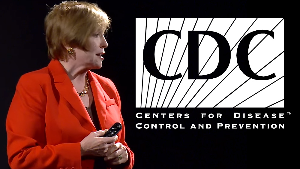 Image: Scandalous CDC director RESIGNS after caught buying shares of vaccine maker Merck while heading the CDC